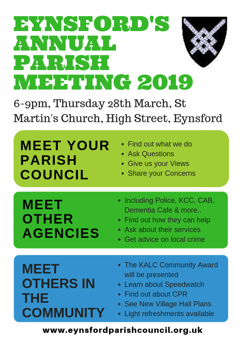 Annual Parish Meeting 2019